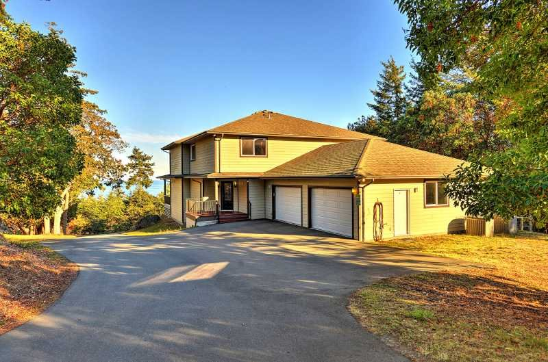 Ample parking in the driveway or the double garage.
