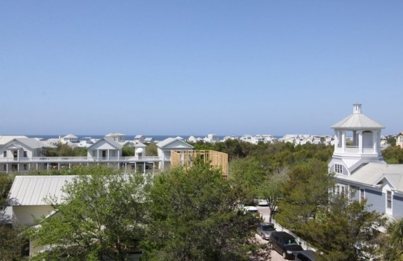 Views of the Gulf and Seaside From Roof Top