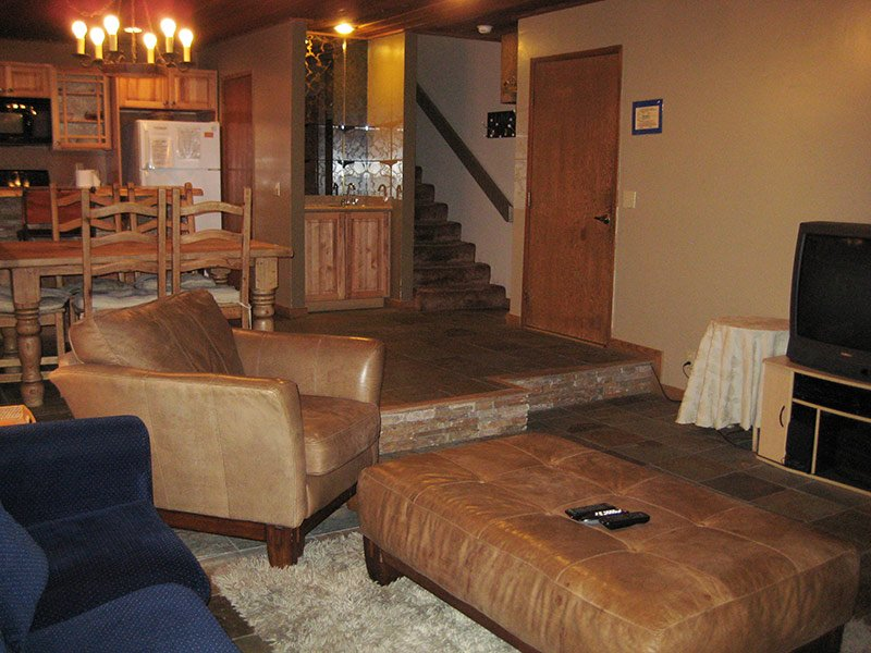 Living Room and Stairs to Bedroom & Loft