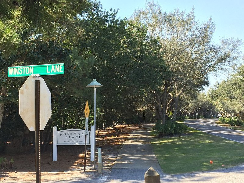 Winston Lane is Right Next to Rosemary Beach