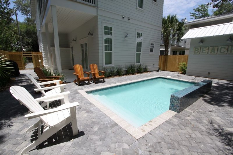Pool Showing Back Porch