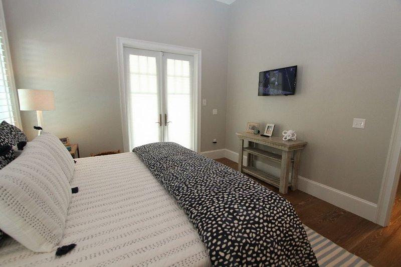Ground Floor King Master Bedroom #1 Towards TV
