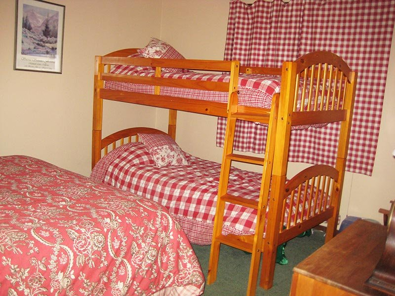 Downstairs Bedroom (Other Direction) with Bunkbeds
