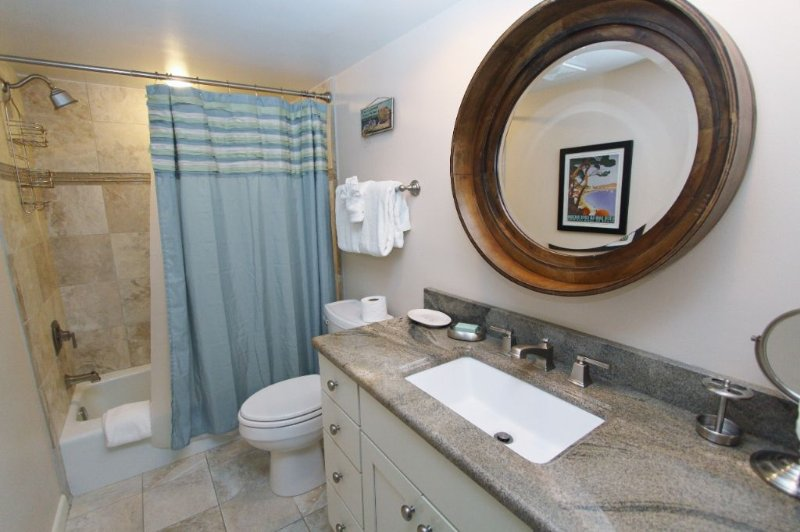 Renovated Bathroom on Main Living Level