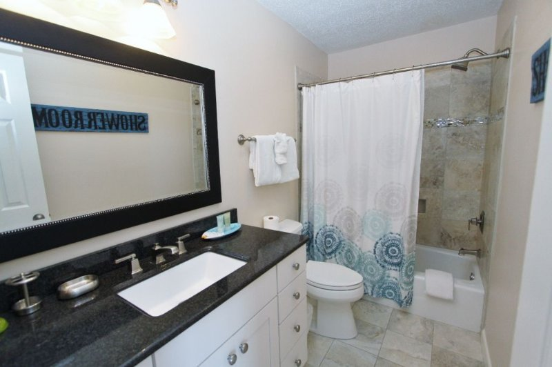 Renovated Twin Bathroom