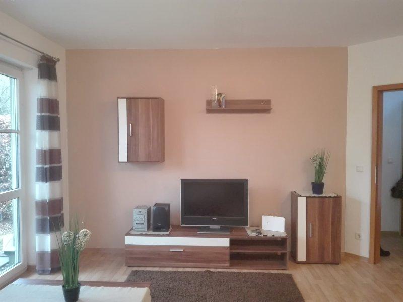 schöne 2-Zimmer Wohnung mit Garten, holiday rental in Lower Franconia