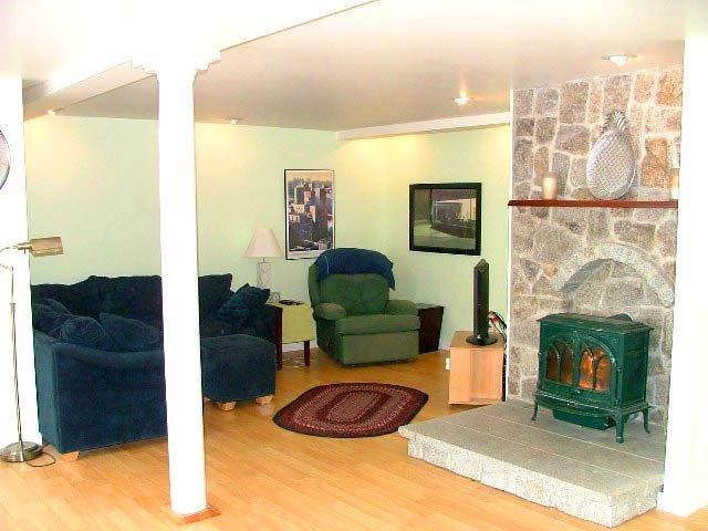 Comfy living room.