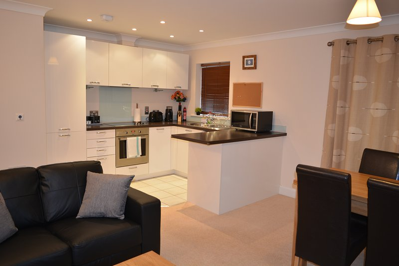 2 Bed Modern Apartment, location de vacances à Hampstead Norreys