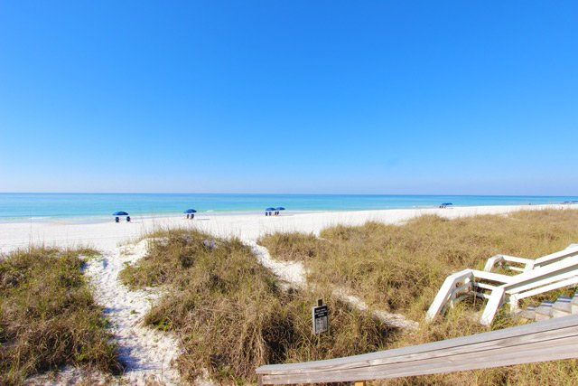 Seawinds #9 beach front 1 bedroom, 2 bath townhome!