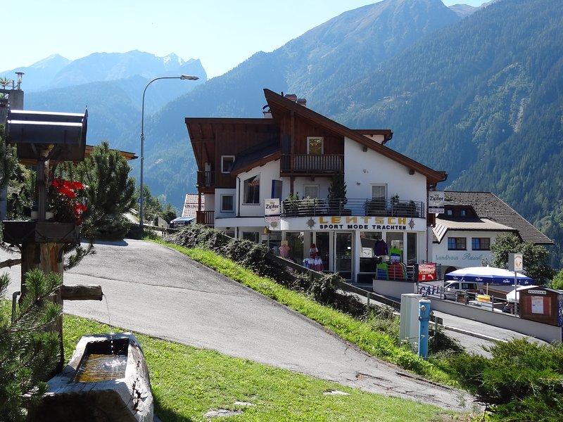 Apart Pepi s Ferienwohnungen im Ski und Wandergebiet Jerzens - Pitztal / Tirol, holiday rental in Arzl im Pitztal
