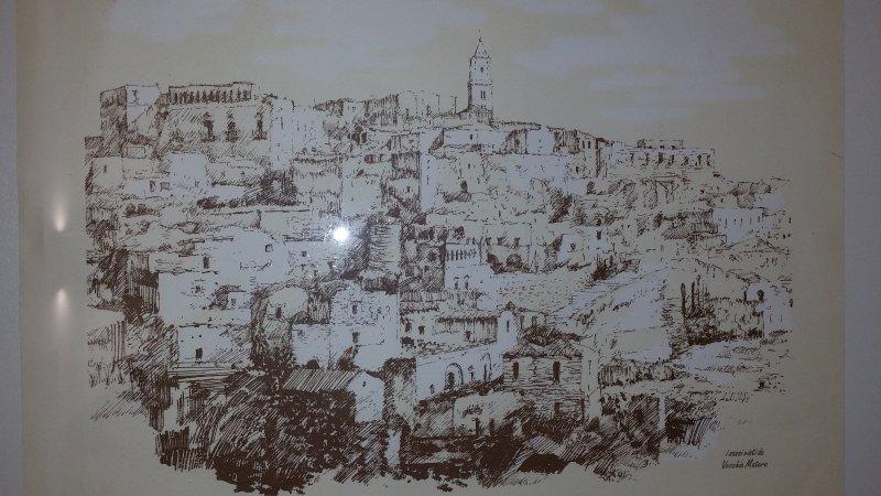 Serigrafia di Matera