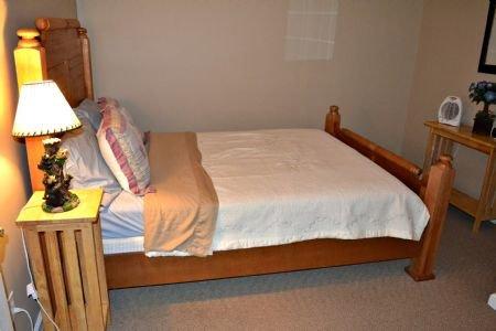 Queen Size Bedroom 3 in Basement