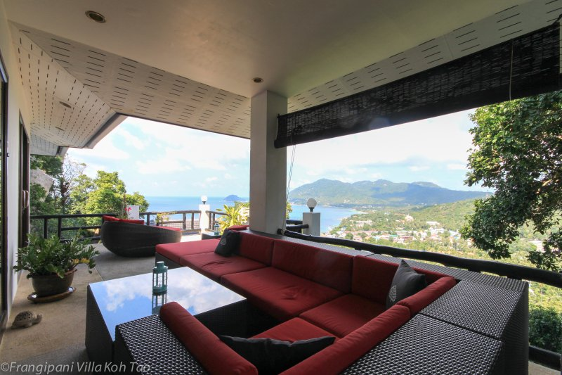 Enjoy lazy days on this stunning terrace!
