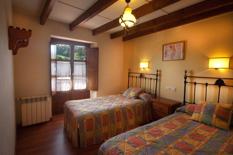 El Cueto de los Collado - Apartamento 3/4 personas Llanes, alquiler de vacaciones en Nueva de Llanes