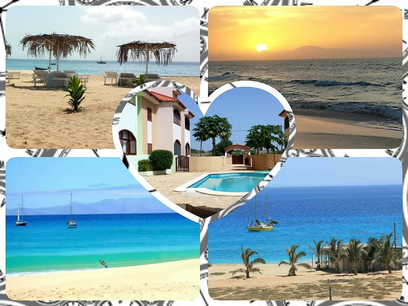 Maio - Cabo Verde-4 persons(+2) in residence with swimming pool, holiday rental in Vila do Maio