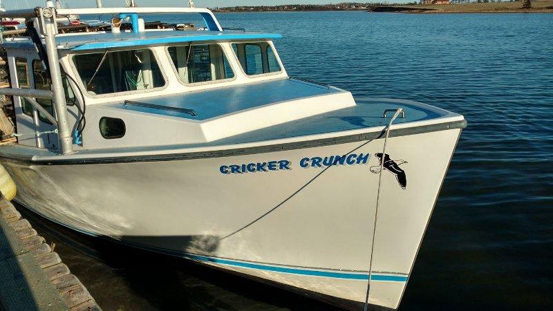 El barco de gran hermano. Mayo / Junio se podía comprar langosta de encima y les cocinar uno mismo ..