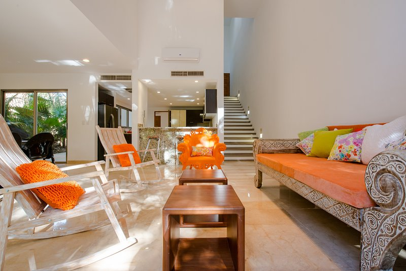 SUPER HOST+BEST REVIEWS+LOCATION  HARMONY 100 % Italian style 4 BD 4,5 BTH 12PAX, location de vacances à Playa del Carmen