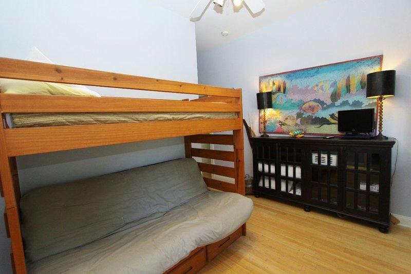 Kid Den - Bunk Bed with Double Sofa Below