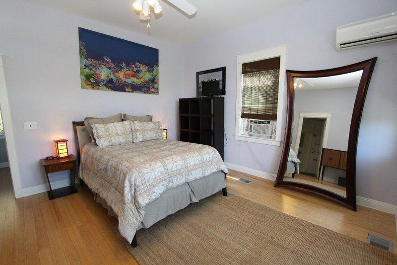 Queen Bedroom on Third Floor