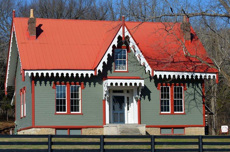 BWL Inn a été construit en 1850. Une fois viable Peach Plantation, Blue Wing est sur le Historial national.