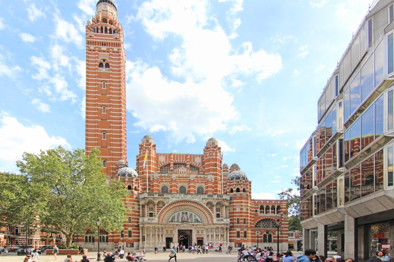 Westminster Cathedral is in walking distance of the townhouse