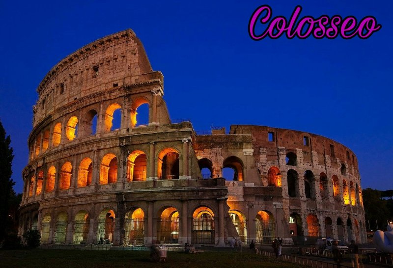 38 minutes from the Colosseum