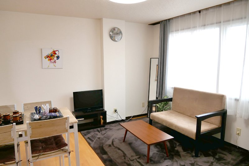 Hakodate Good Location/3bedroom/60㎡/max12people, location de vacances à Hakodaté