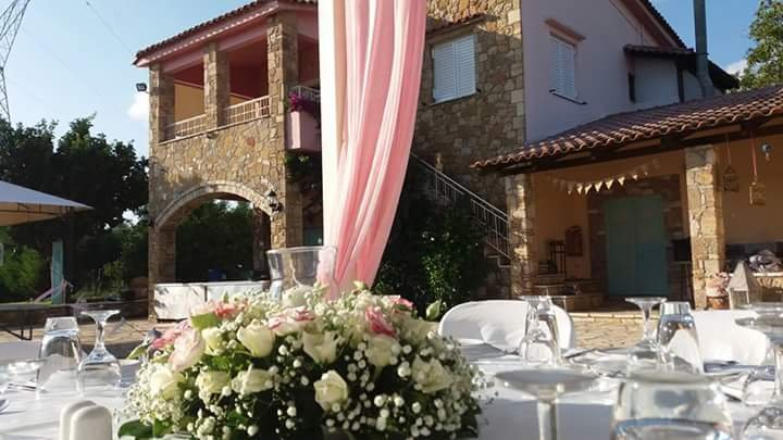The upper floor is a beautiful place to stay and it is offered complimentary for the wedding night!