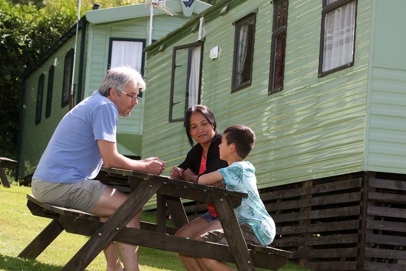 Deluxe caravans ideal for families or couples
