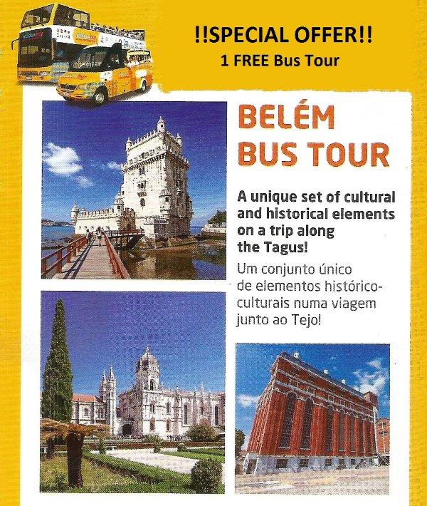 FREE Belém Bus Tour w/ your booking