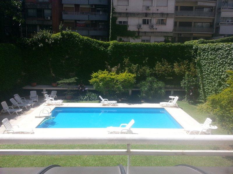 vista do terraço do apartamento!