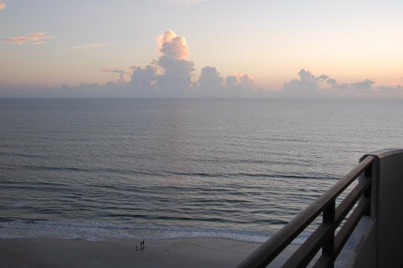 Sunrise and Relaxation from the Balcony