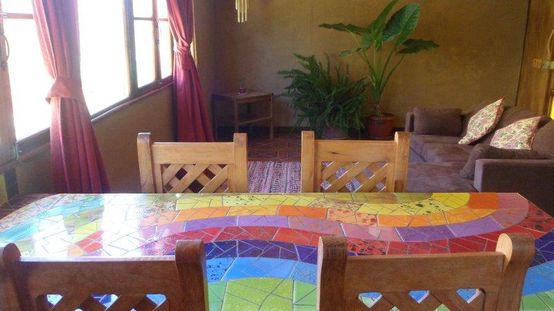 Art de la table MOSAIC salon. DÉCORATION LE ROCK GENS POUR ARTISANS RTESANAL Horcón