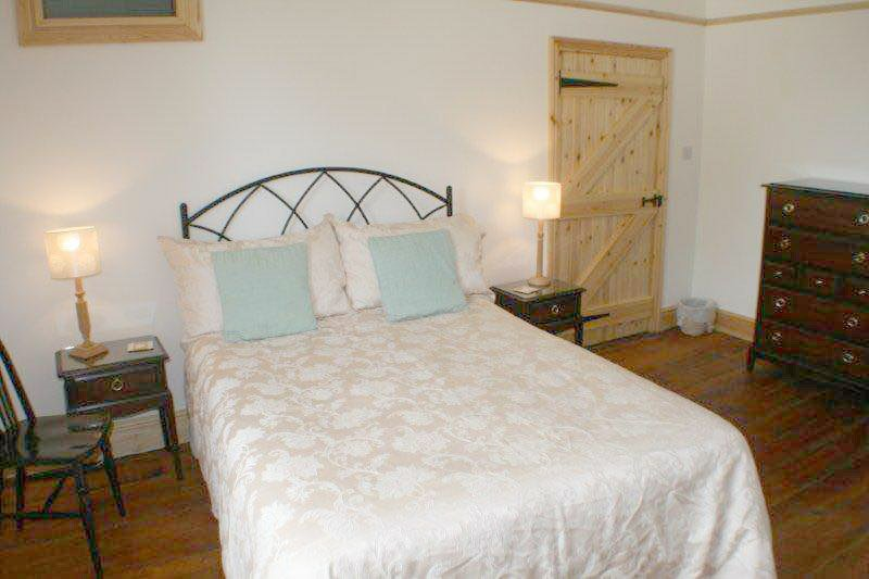 4th bedroom upstairs Double bed plus single bed