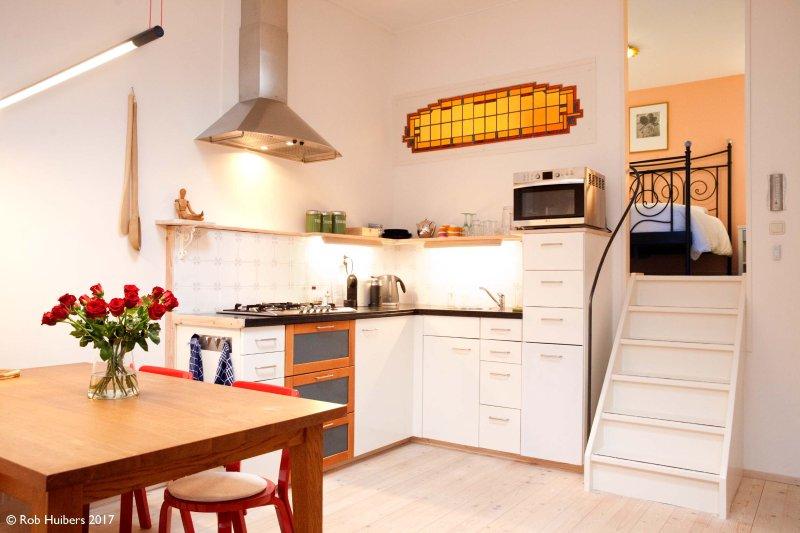 mesa de comedor, cocina