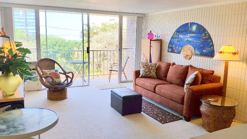 North Shore Oahu - Large 1 BR - Steps to Beach, aluguéis de temporada em Waialua