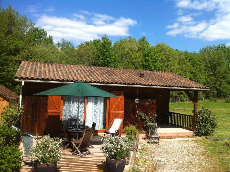 Maison avec 2 chambres en pleine campagne, idéal pour se ressourcer en famille, casa vacanza a Audrix
