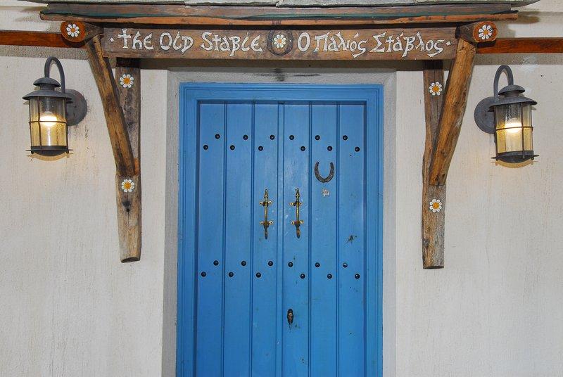 L'entrée de The Old Stable