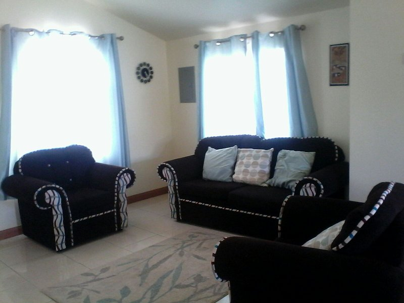 Very comfortable and spacious reception area/living room