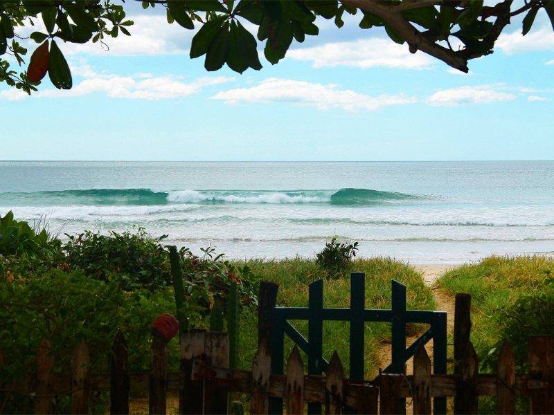 clase mundial pequeñas olas, justo enfrente. a veces