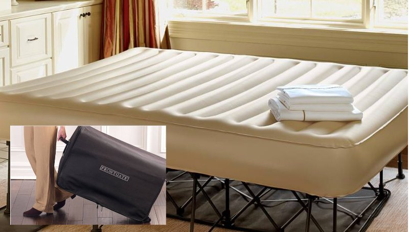 Additional bed is this inflatable Frontgate queen. It is located in the 2nd bedroom closet.