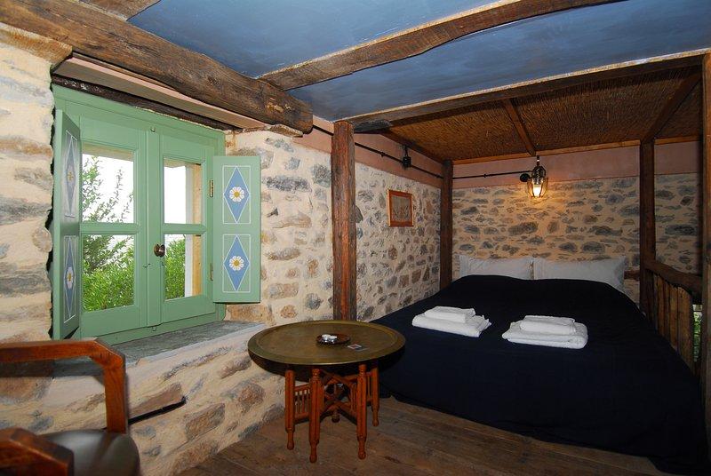 Hayloft studio double bed