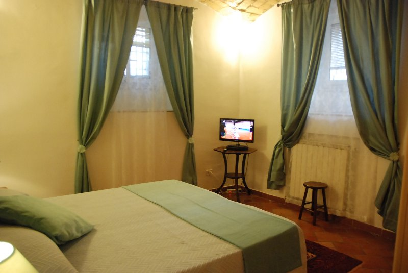 double room for two person, on request can have twin beds. (extra bed costs 20 euros x night)