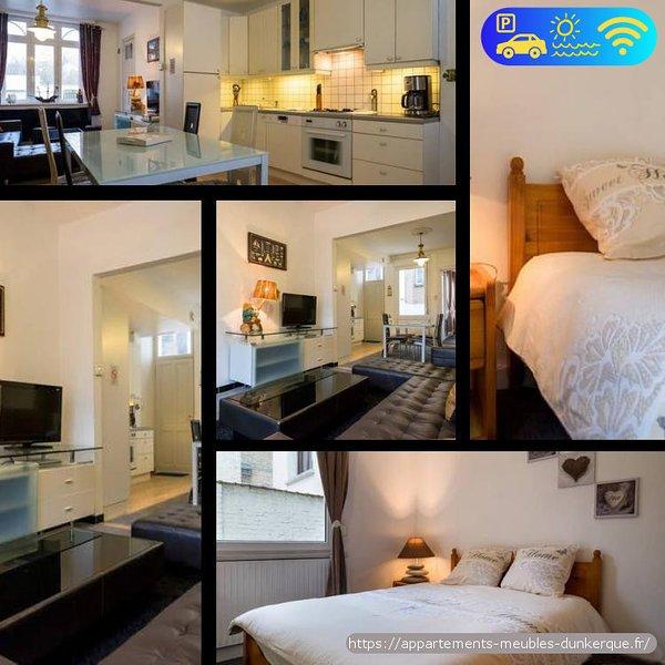 Appartement de 60m2 bord de plage Dunkerque, Malo les Bains, holiday rental in Gravelines