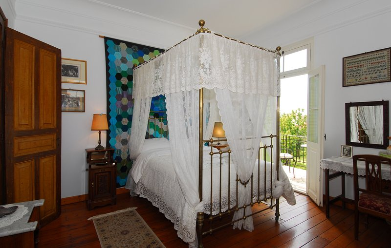 The Four Seasons master double bedroom with en-suite shower room