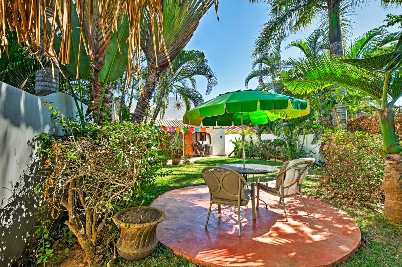 Have a tranquil getaway at this 2-bedroom vacation rental condo in Sayulita.