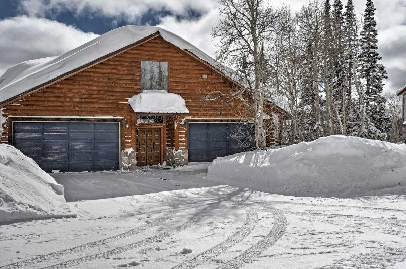 A rejuvenating Brian Head retreat awaits you at this vacation rental cabin!