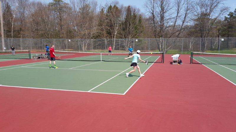 campos de ténis no Victoria Park