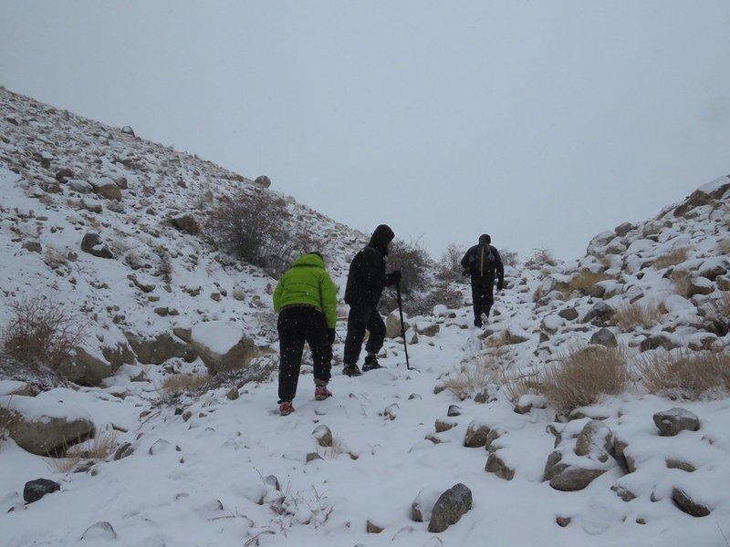 Sentier de randonnée près du lodge