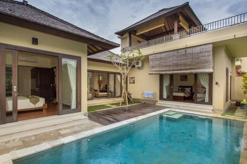 5 Minutes Beach 2 Bedrooms Villa Yurika, vacation rental in Uluwatu